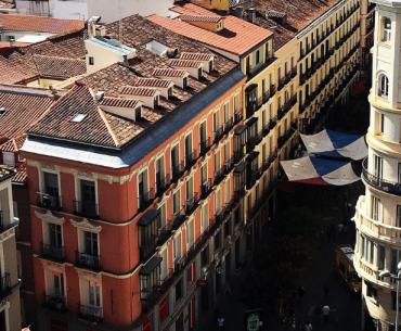 Zonas más populares para alojarse en Madrid